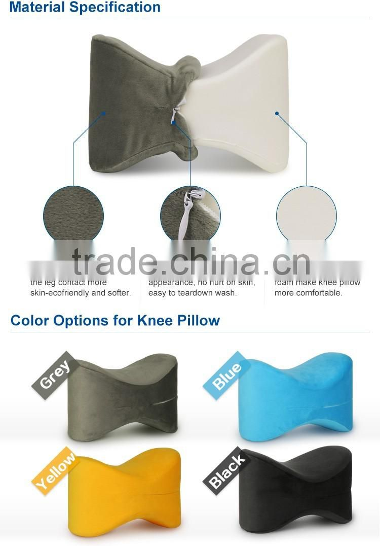 Moulded digital printing knee pillow for sleeping