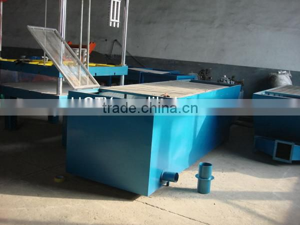 EPS expanded styrofoam polystyrene foam fish/fruit/vegetable box making machine production line