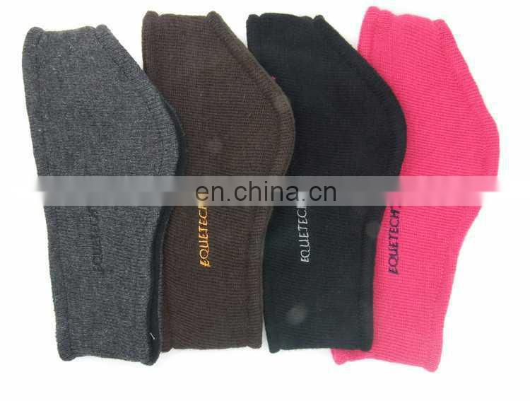 2014 new fashion knit headband with fleece lining