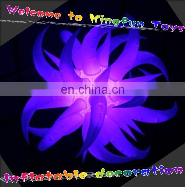 Shining/bright/lighting decorative inflatable LED star