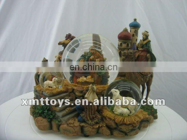 resin natibity sets christian souvenirs