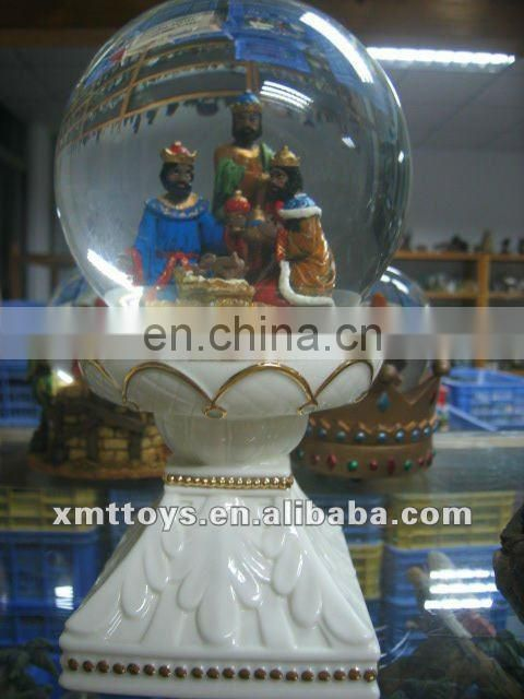 high quality water globe with nativity for christmas
