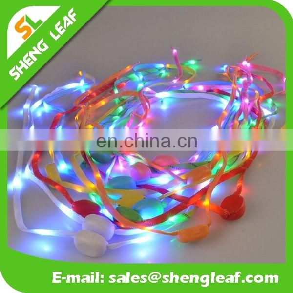Fashionable led shoelace custom logo LED shoelace