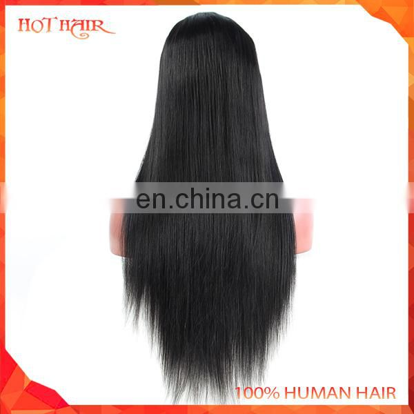 Wholesale 100 percent brazilian pure handmade virgin human straight hair extension,color customized