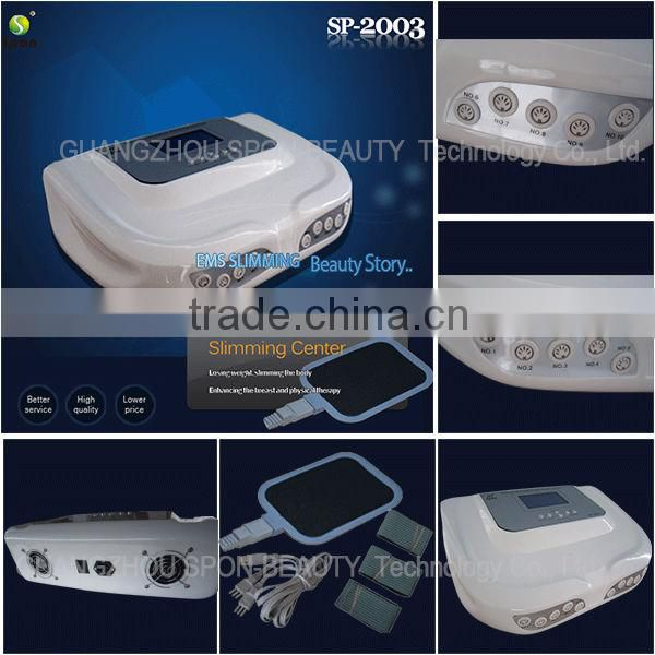 Electric mulse stimulation slimming machine