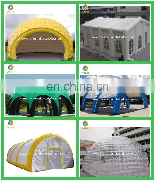 outdoor camping tent inflatable spider tent for advertising