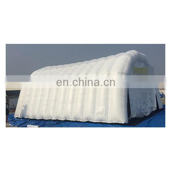 white inflatable tunnel tent inflatable temporary shelter for sale
