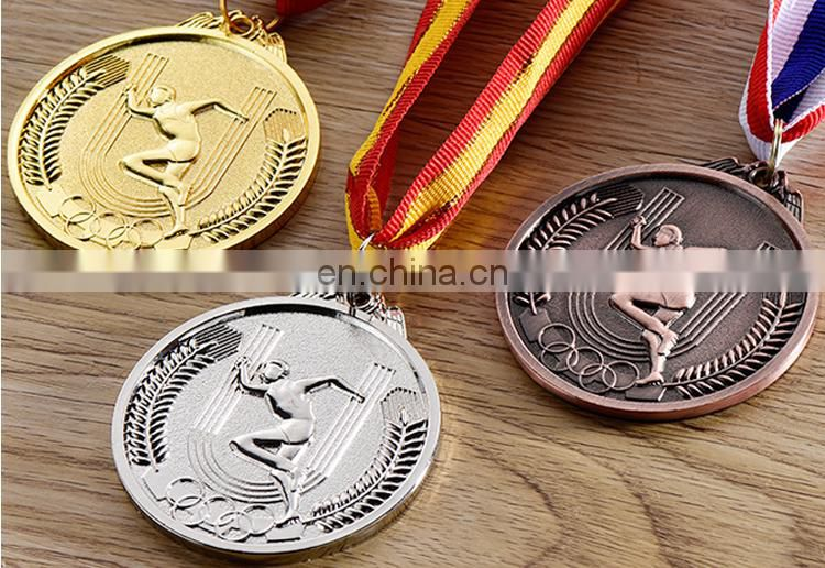 football baseball swimming various sports medals custom metal sports medals for World cups games 2017 souvenir gifts medals