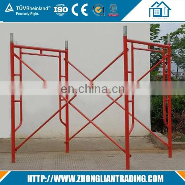 Framework Ladder Frame Type Used Scaffolding Material for Building Construction