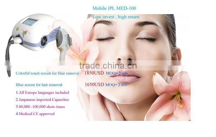 New ipl home use IPL hair removal & Facial beauty device