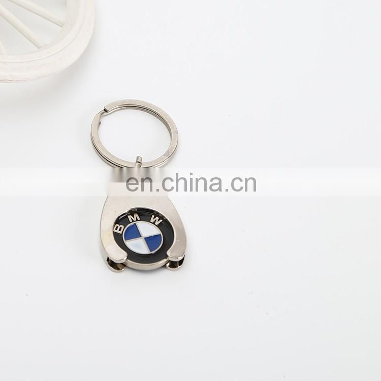 Custom plastic car keychain model metal leather keychain machine