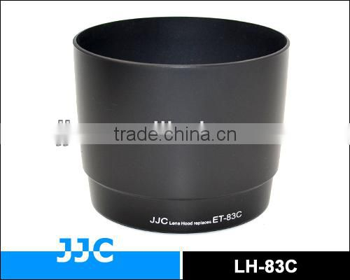 JJC LH-83C Lens Hood for CANON ET-83C used on CANON EF 100-400mm f/4.5-5.6L IS USM