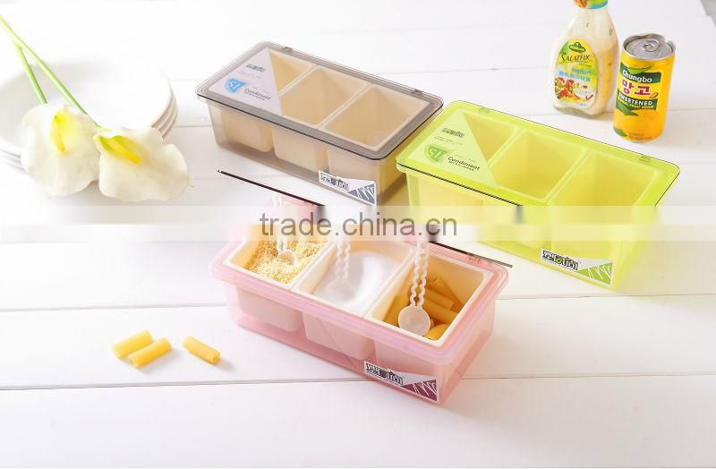 The factory for high quality seasoning box&condiment dispenser&spice box