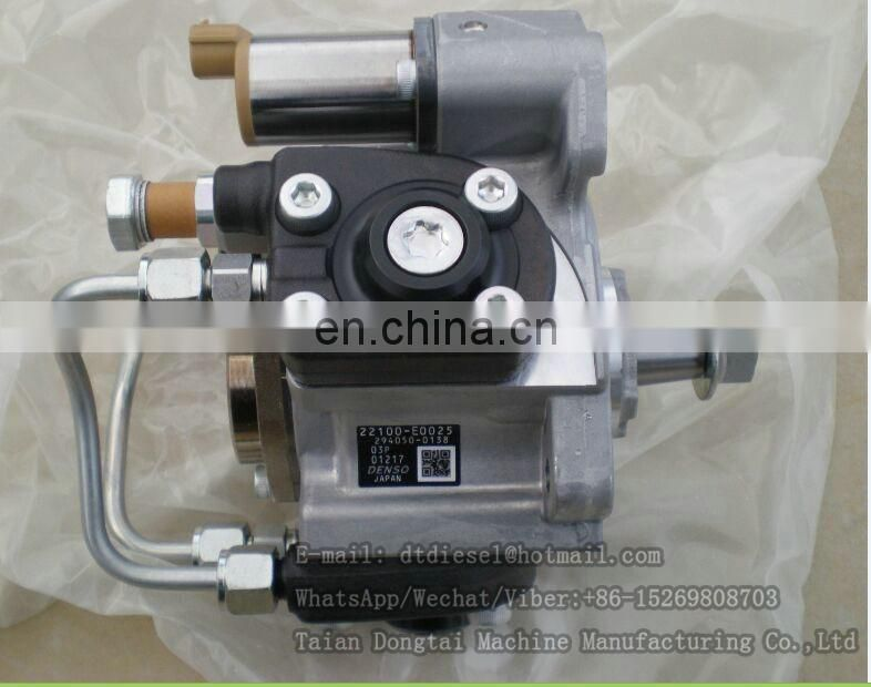 Original fuel injection pump supply pump VH22100E0025 22100-E0025 for excavator SK330-8 engine J08E