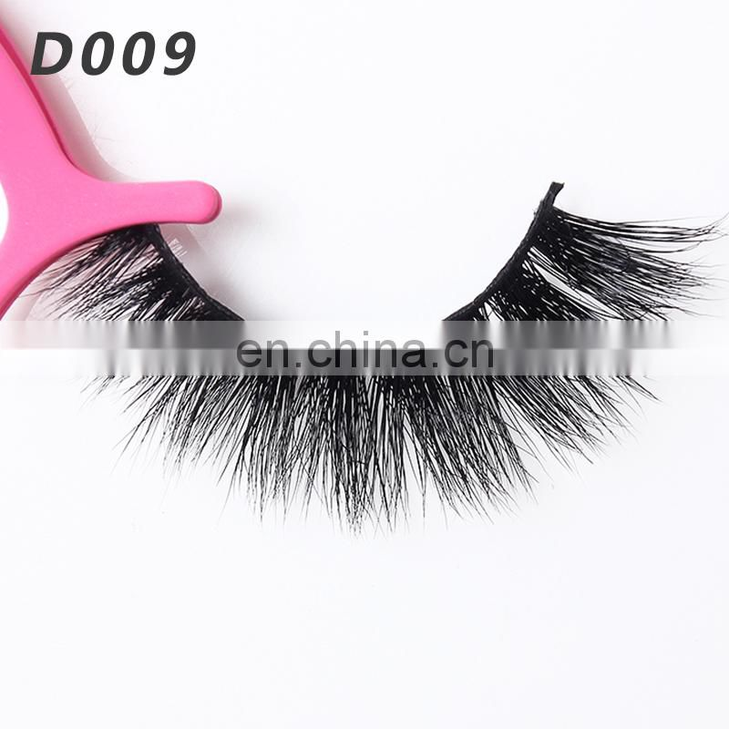 D009 artificial eyelashes eyelash extension factory