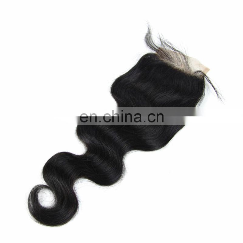 Youth Beauty Hair Brazilian Cheap Lace Closure Free Parting in body wave full cuticle