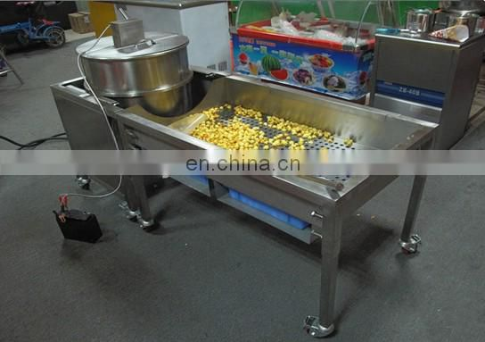 Made in China high quality full automatic caramel popcorn machine 008613838527397