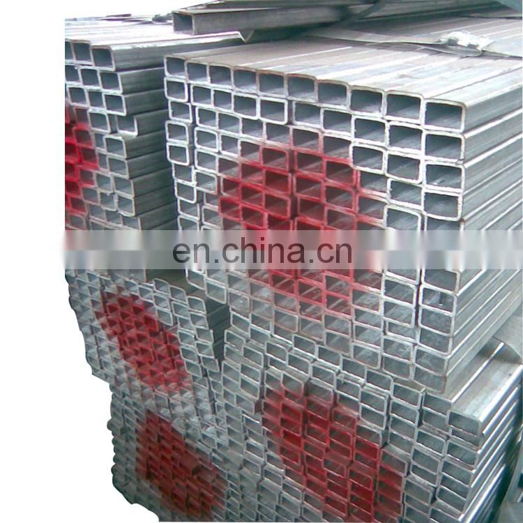 Tianjin SS Group Q235 70x70mm Galvanized Square Pipe / Square Steel Tube