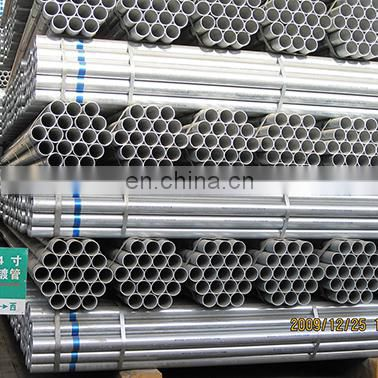 "ASTM A53 BS1387 EN10255 1/2""-10"" hot dipped galvanized round steel pipe"