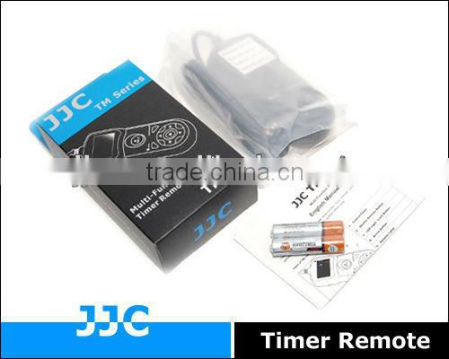 JJC TM-A Timer Remote Controller&Camera Remote Switch replaces TC-80N3 for Canon EOS 1Ds Mark II etc