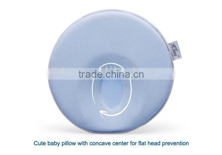 100% Cotton Soft and Comfort Newborn Baby Infant Pillow Flat Head Baby Pillow