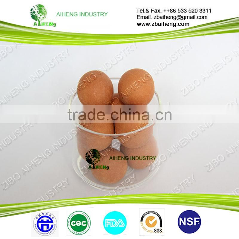 drinking water filter cartridge media hydrogen magnetic alkaline chlorine remove ceramic ball