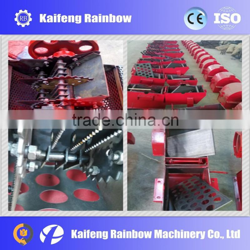 High efficiency multifunction roll and crush machine weed crushing machine for feed