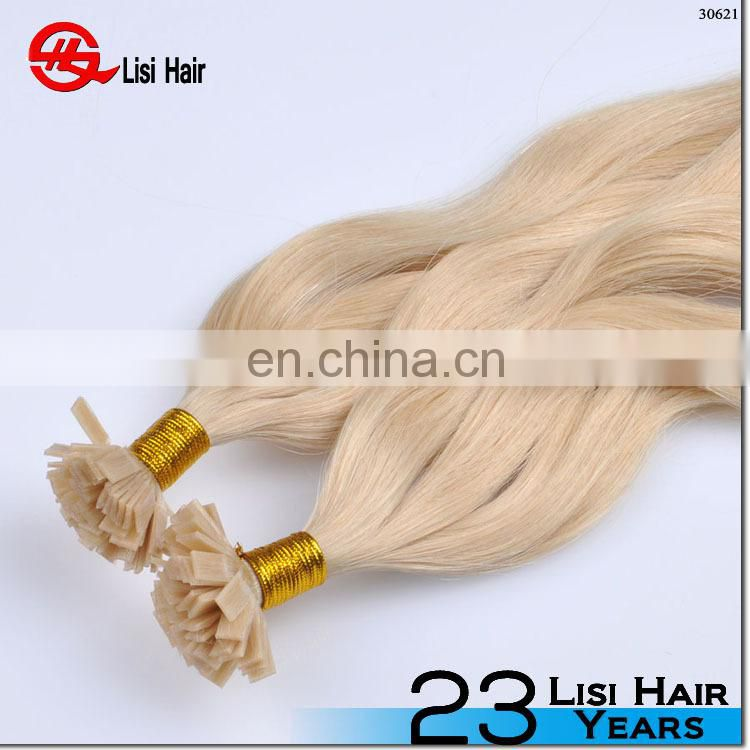 7A Keratin Hairpiece I Tip Hair Extensions Stick Hair