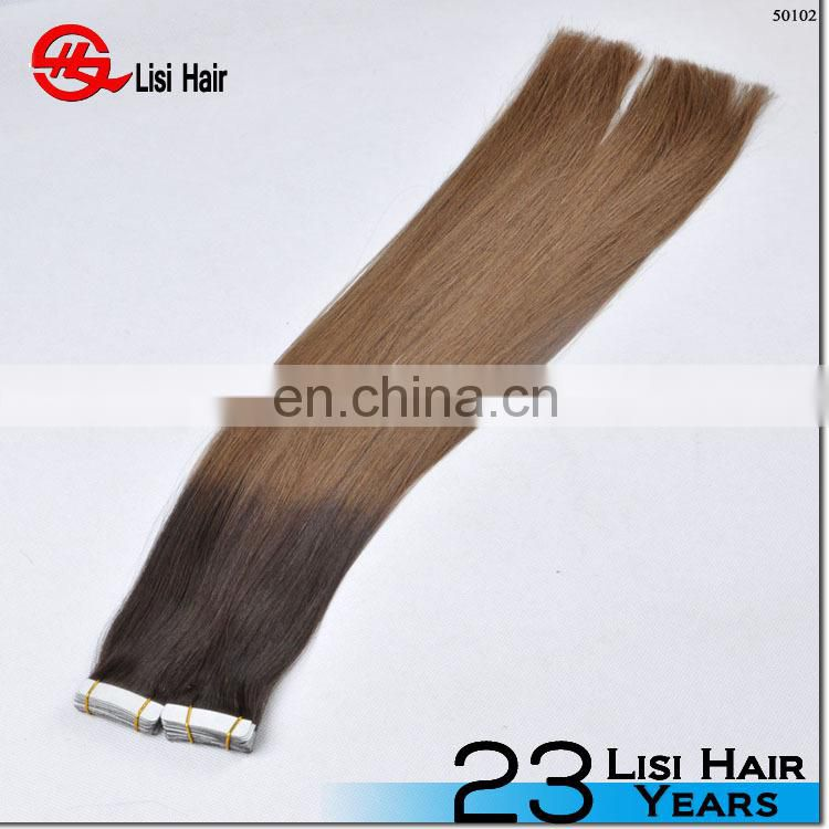 trade assurance flexible softy super tape 4*1cm full cuticle remy hand tied tape hair extensions
