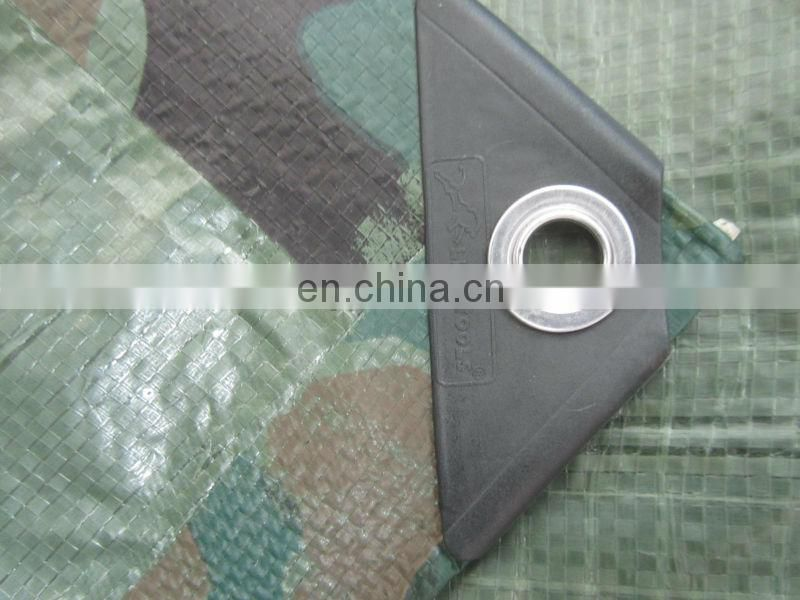 Water Proof PE Tarpaulin with Plain Color Or Strip Color for covering