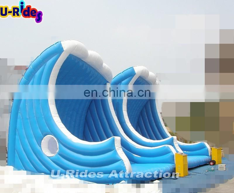 Giant wave Inflatable Electric Mechanical Surfboard Simulator With Mattress for sale