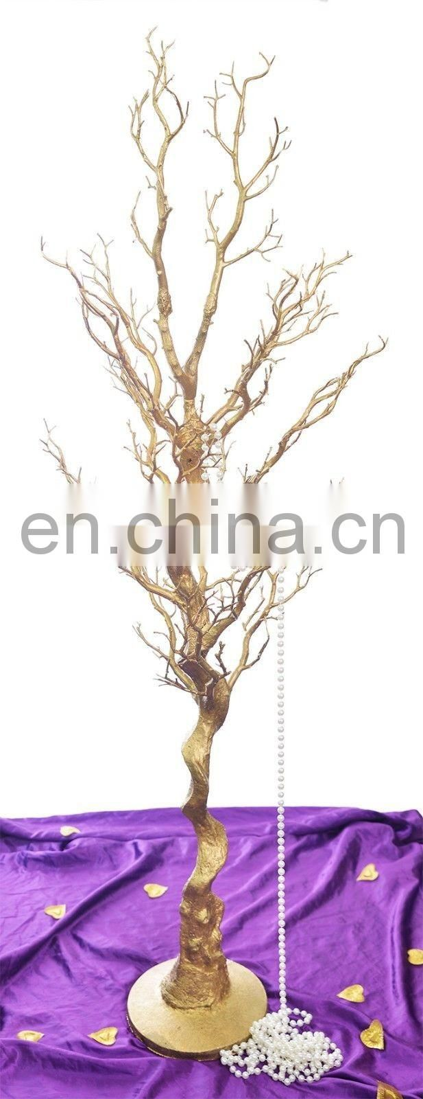 80cm 1.2m 1.8m Gold Manzanita Wedding Wishing Tree For Venue Centrepiece Decoration