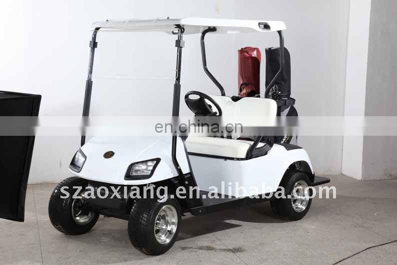 Classic Designer Golf Cart, 3KW 48V Electric Power Golf Cart with CE Certificate | AX-B2+2