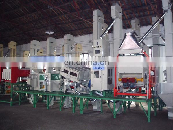 Fully automatic rice huller with polishers from China
