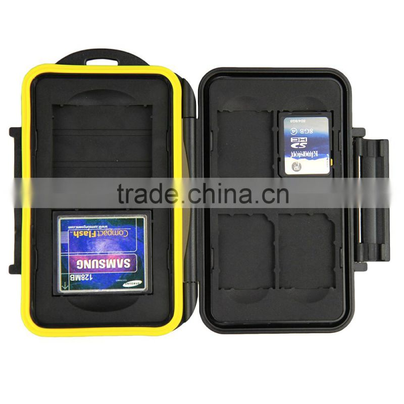 JJC Water-Resistant Anti-shock Memory Card Case 8 SD cards