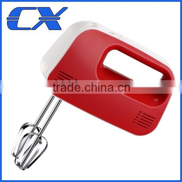 200W Red Hand Mixer