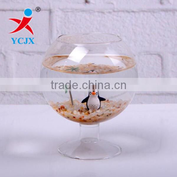 WHOLESALE CLEAR GLOBE ROUND GLASS TERRARIUM HOME DECO