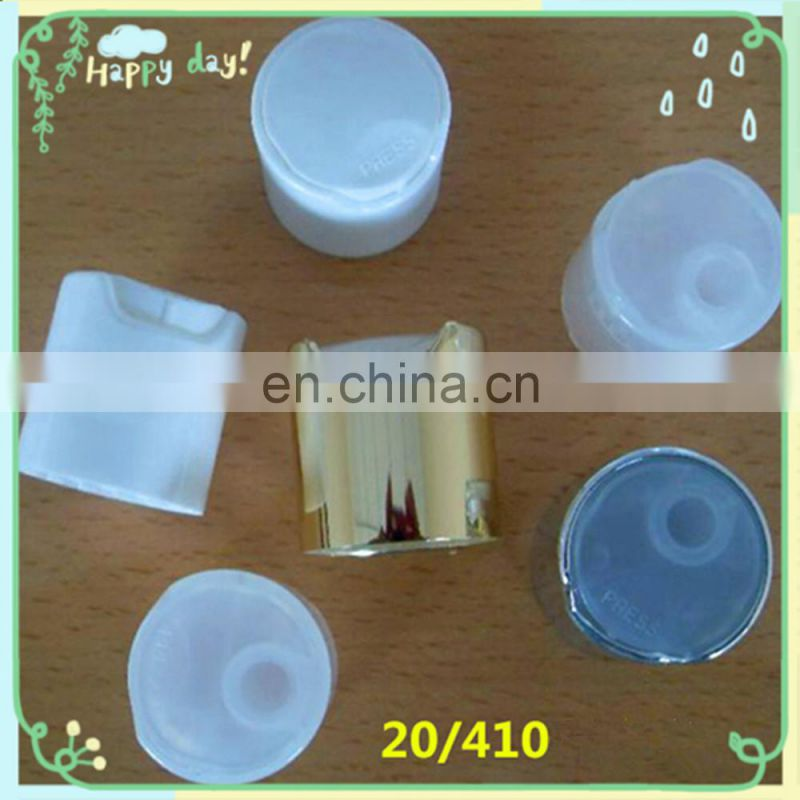 High Quality 24/410 28/410 Plastic Screw Alum Hand Gel Sanitizer Bottle Disc Top Cap