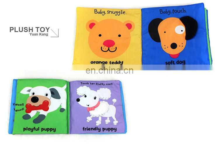 YK ICTI customize small colorful BABIES LEARNING BOOK for your talent babies