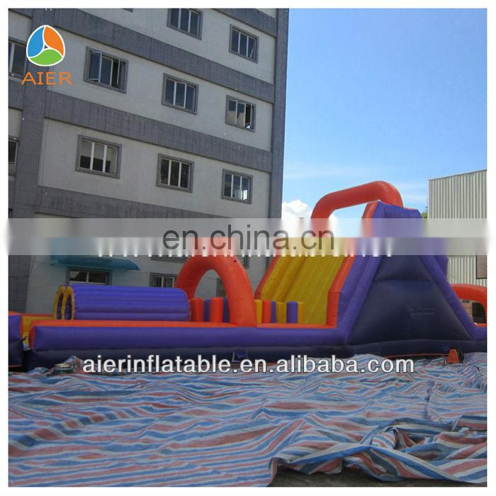 Hot sale giant Adult Inflatable Obstacle game