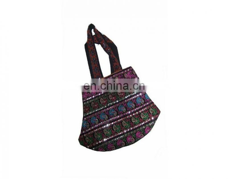 INDIAN ETHNIC DESIGNER LADIES TOTE SHOULDER BAG