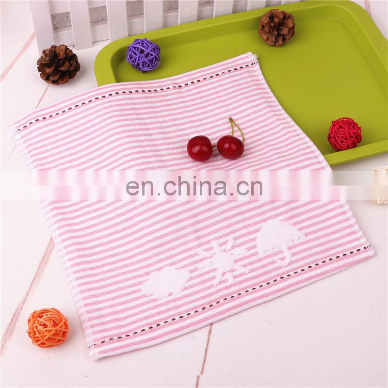 Wholesale custom excellent absorption 100% cotton hand towel
