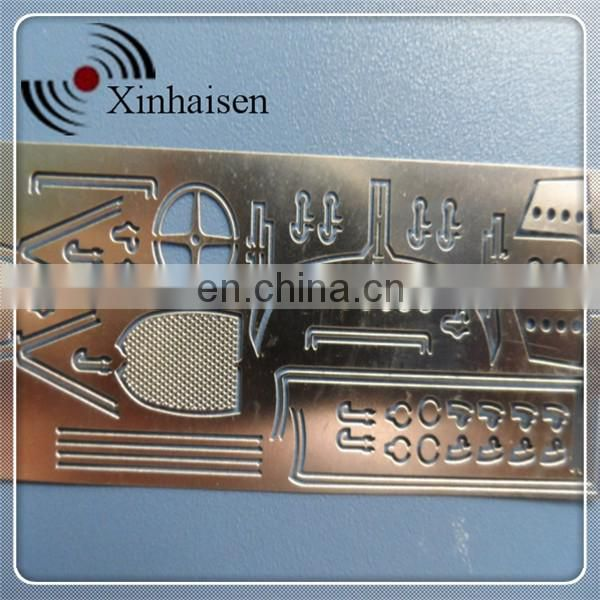 Custom photo chemical aluminum etching with high quality