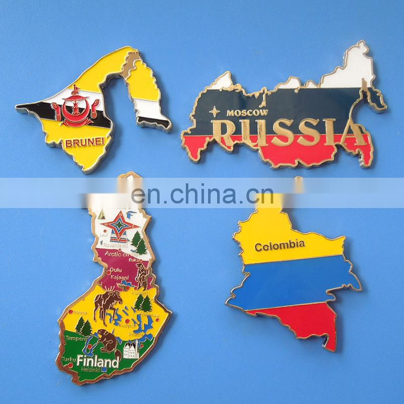 Spain landmarks country symbols travel souvenir gifts custom design soft pvc fridge magnet