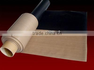 PTFE coated fabric rolls / Runsea PTFE Coated fiberglass adhesive fabric