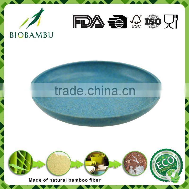 Reasonable price irregular shape burst sells plant fiber powder pot tray