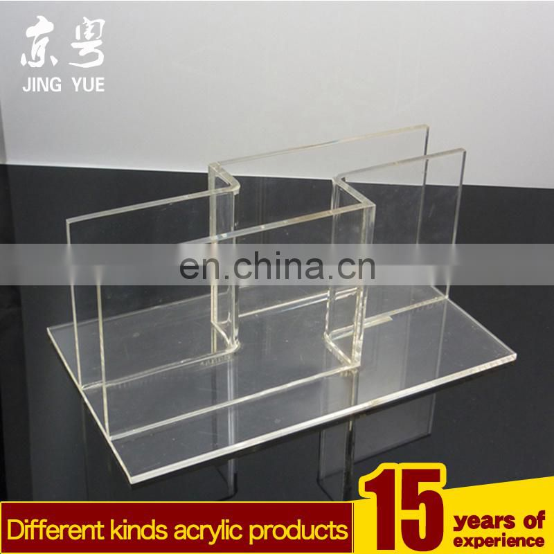 Fashion style pmma plexiglass A5 Paper Brochure Holder acrylic brochure holder