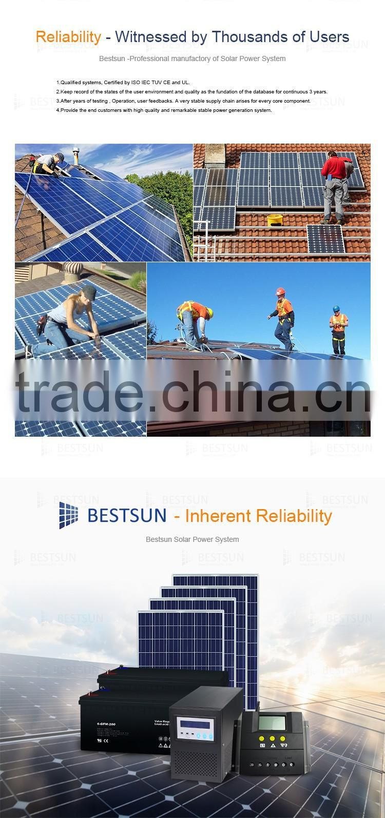 hot sell solar energy system High technology solar generator system BFS-1kw