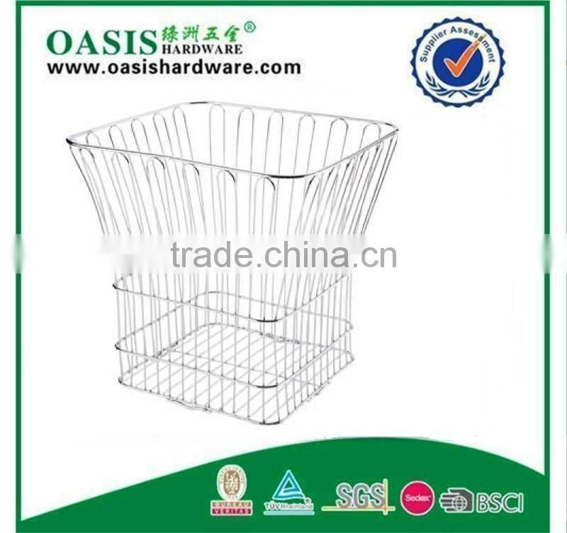 Hotel Towel Basket , Hotel accessories, stainless steel towel basket,dirty towel basket YZ4118C