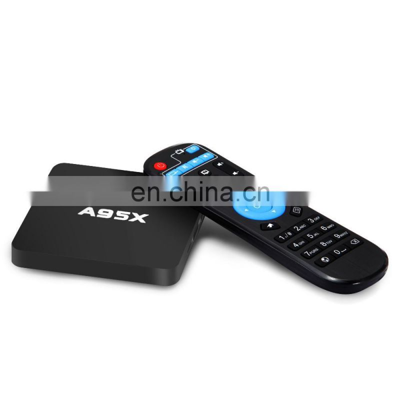 2016 wireless A95X Amlogic S905 Quad Core 2.0GHz 1GB/8GB HD 4K Wifi Android 5.1 TV Box